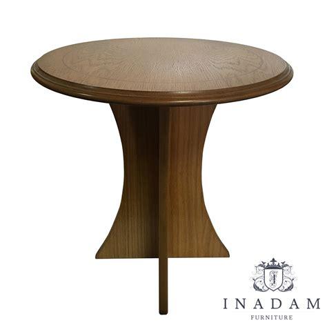 small round oak inadam furniture small round simple oak
