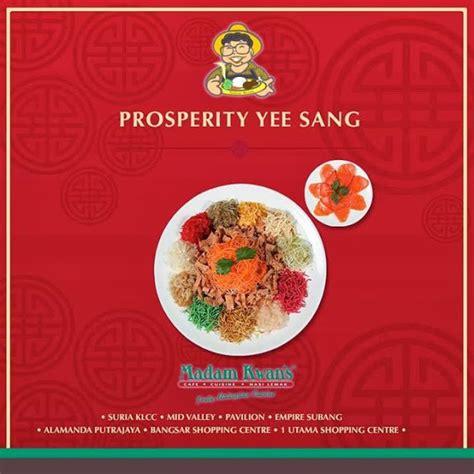 madam kwan new year menu prosperity yee sang at madam kwan malaysian foodie