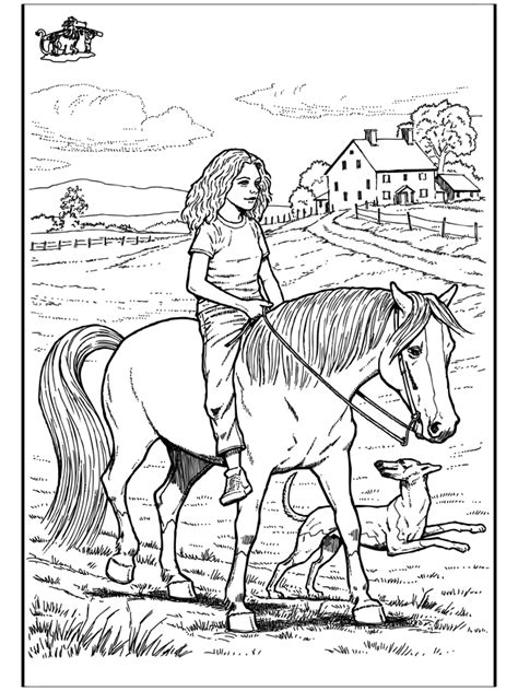 trick riding horse coloring pages coloring pages