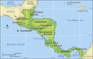 map of united states and central america guatemala el salvador and honduras propose joint energy