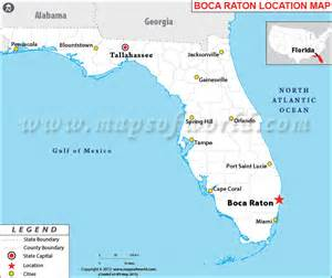 where is boca raton on the florida map where is boca raton florida where is boca raton fl
