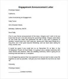 Of Engagement Document Template by Sle Engagement Letter 9 Free Documents In