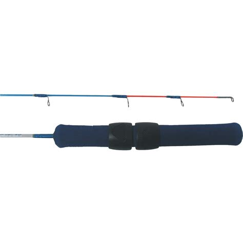 light action fishing rod h t enterprises 174 ice blue jig rod 18 quot ultra light