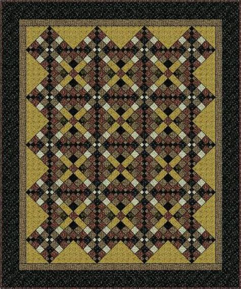 Antique Quilt Patterns Free by Vintage Chains Quilt Pattern Crafts
