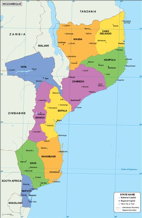 map of mozambique cities mozambique eps map order and mozambique eps map