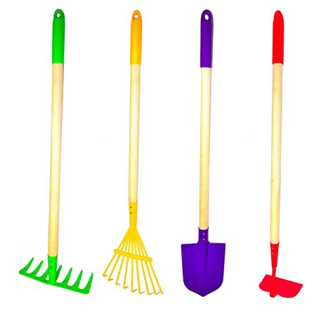 backyard tools g f 10018 justforkids kids garden tools set rake spade
