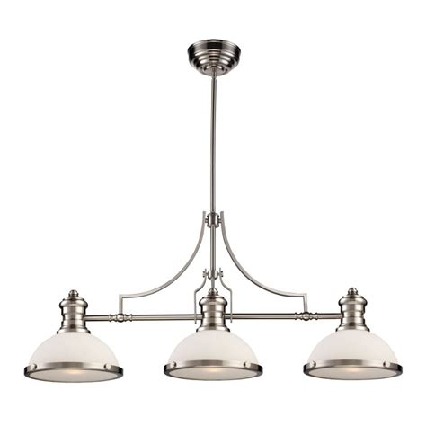 elk lighting 66225 3 satin nickel chadwick three light