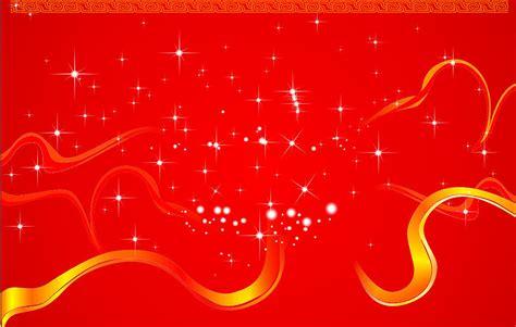 new year early years powerpoint 新年快乐星星红色背景矢量图素材 矢量素材 中国素材天下
