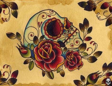 tattoo flash traditional skull traditional tattoo flash kysa ink tattooflash tattoo