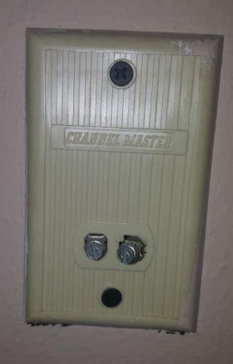 channelmaster antenna wallplate  digital antenna home improvement
