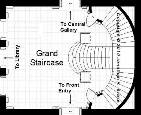 great design with grand staircase 7459rd 1st floor grand staircase floor plans the mansion project the