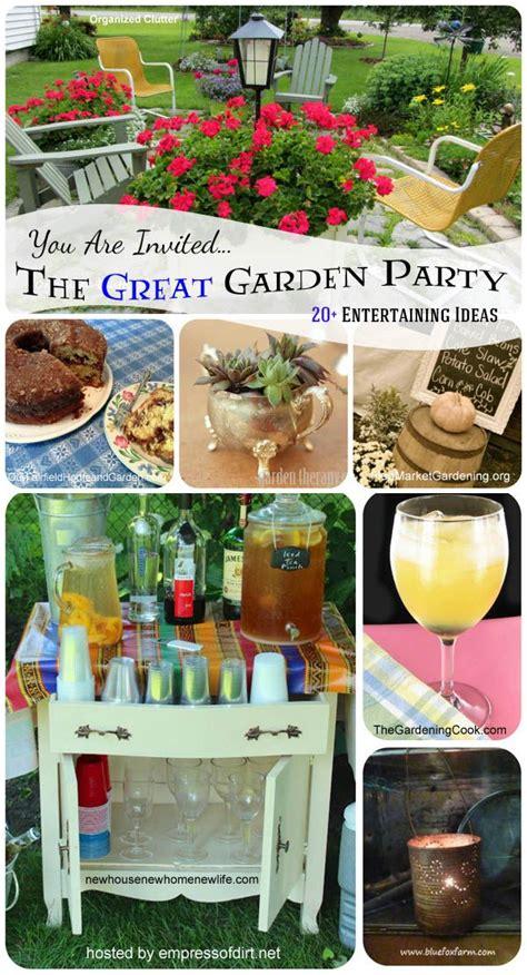entertaining ideas 20 garden entertaining ideas simple home diy ideas