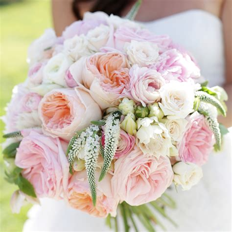 Wedding Pink Flowers by Our Favorite Wedding Bouquets Martha Stewart Weddings