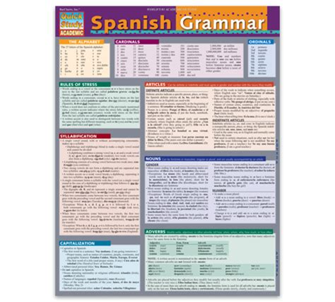 reference card template publisher quickstudy the world s number one reference publisher
