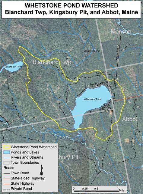 lakes  maine lake overview whetstone pond sylvan