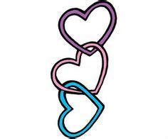 3 intertwined heart tattoo designs 3 hearts designs search tattoos