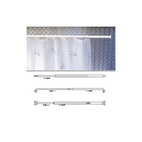 barra cortina extensible barra para cortina ducha extensible aluminio blanco 70 a