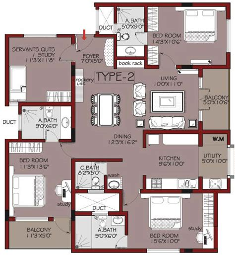 4 bedroom luxury apartment floor plans habitat ventures habitat mayflower featured property