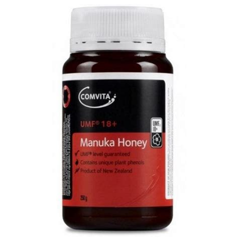 Comvita Umf Manuka Honey 5 250g comvita manuka honey umf 18 250g pharmacy 4 less
