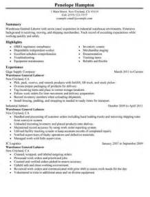 Sle General Labor Resume by 517 Best Images About Resume On Entry Level Resume Builder And Functional