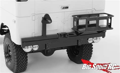 swing away spare tire carrier rc4wd tough armor swing away tire carrier for g2 cruiser