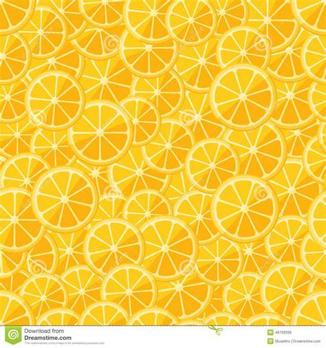 seamless lemon pattern seamless pattern chopped lemon stock vector image 46733339