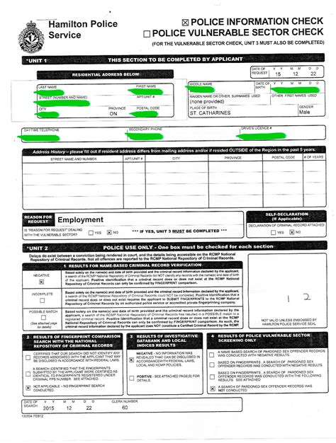Criminal Record Check Ontario Criminal Records Check Learn The