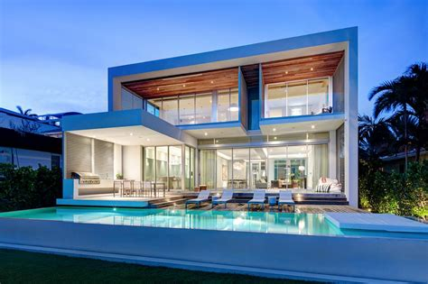 design house associates miami modern miami home with ocean view strang architecture