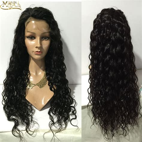 the wig mall wigs human hair lace front wigs full lace 7a virgin brazilian wavy full lace human hair wigs for