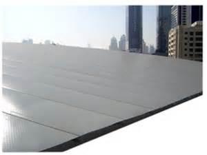 agora couverture plane pour toiture m 233 tallique faible