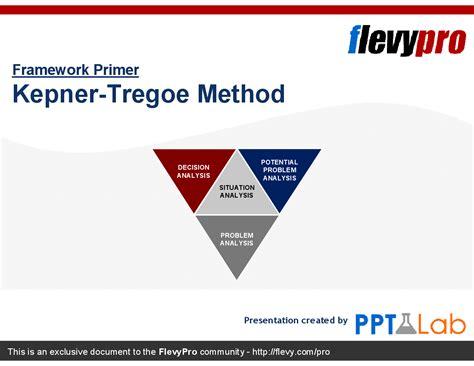 kepner tregoe problem solving template kepner tregoe method powerpoint flevypro document