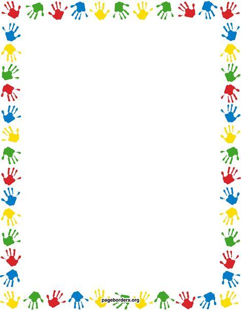 printable clip art preschool clipart borders letters