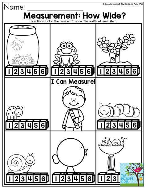 kindergarten activities measurement 17 best images about measurement on pinterest activities