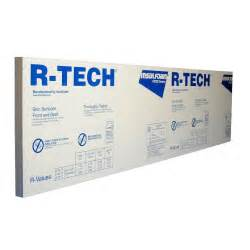 home depot foam board r tech 2 in x 4 ft x 8 ft r 7 7 rigid foam insulation