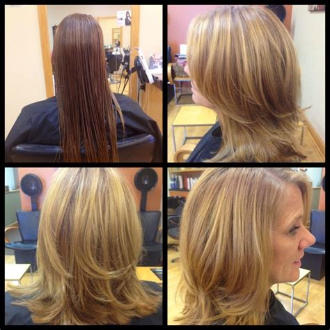 7 Ways To Work The Layered Look by Malisa957 Medium Length Haircut With Layers And Side