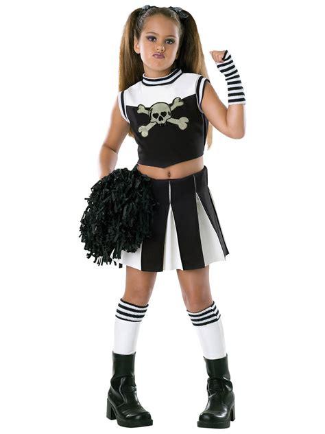 cheerleader costumes costume supercenter girl s bad spirit goth cheerleader costume ebay