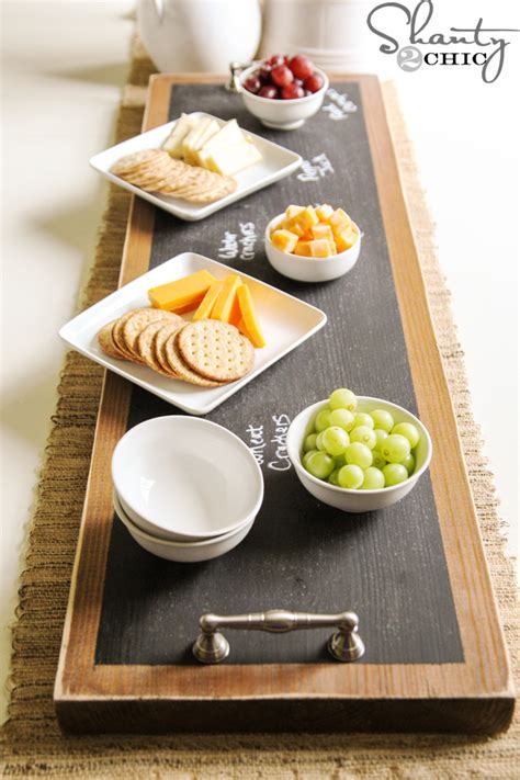 diy serving tray 50 inexpensive diy gift ideas