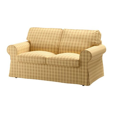 yellow loveseat furniture ektorp loveseat skaftarp yellow ikea