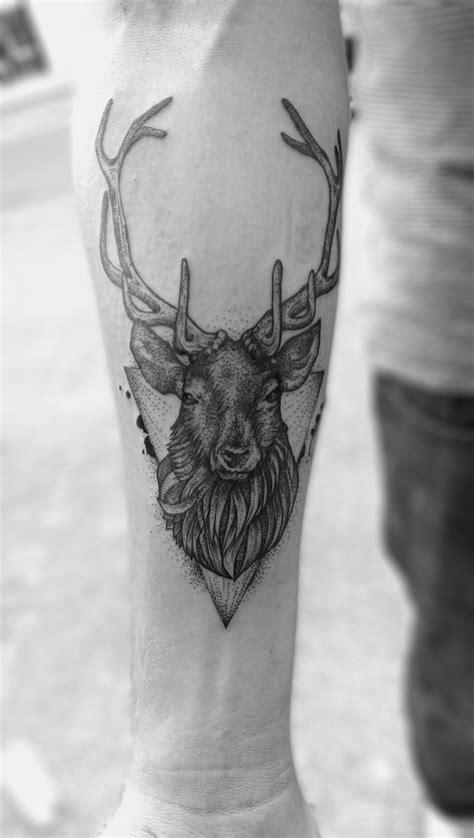 elk tattoo designs stag dotwork stag ideas