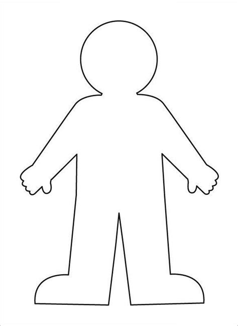 human body outline 17 free sle exle format