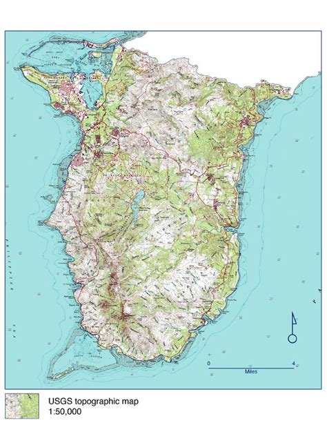 printable road map of guam large detailed topographical map of southern guam