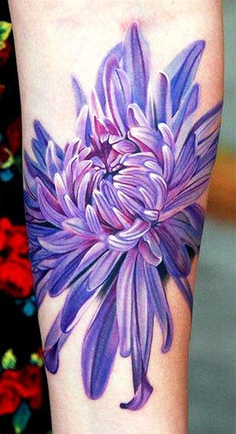 different flower tattoos best 25 chrysanthemum ideas on