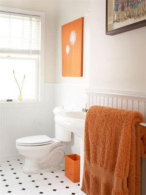 bathroom design ideas 2012 small bathroom ideas with orange color