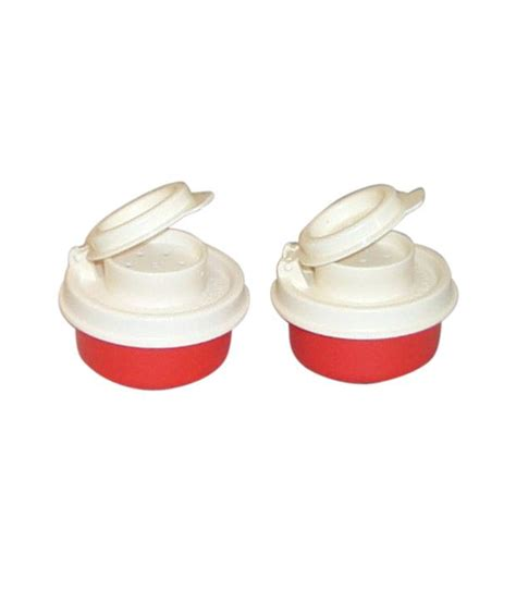 Tupperware Mini Freezermate With Dpt 2 Pcs 1 tupperware mini smidgets white plastic salt n pepper shaker set 2 pcs buy at best