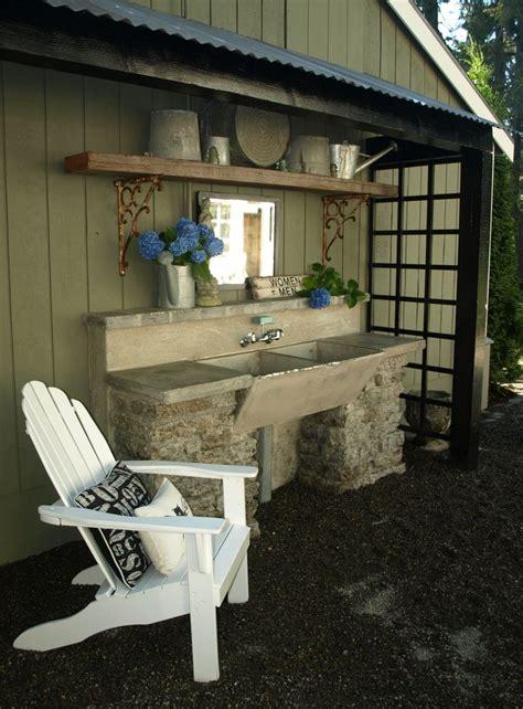 Outdoor Garden Sink Station by Best 25 Outdoor Garden Sink Ideas On Potting