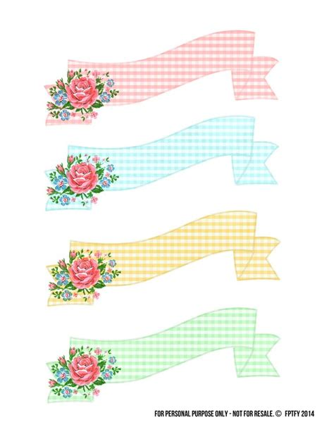 printable banner labels stock art images banners printable banner and label paper