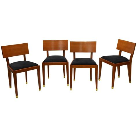 1950 dining room furniture four dining chairs france circa 1950 for sale at 1stdibs