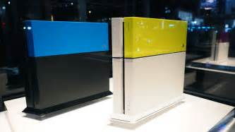 playstation 4 colors your ps4 is screaming out for some color and a gold