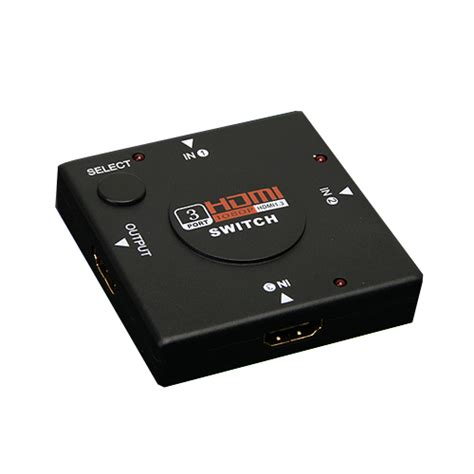 Hdmi 3 Port Switcher Murah Berkualitas 3 port hdmi switch switcher splitter for hdtv 1080p ps3 alex nld