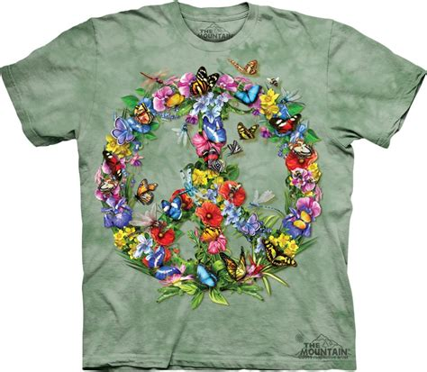 Tshirt Choose Peace butterfly peace sign t shirt